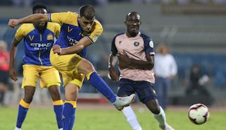 نتيجة مباراة الجزيرة والنصر اليوم الاثنين 12-11-2018  دوري الخليج العربي الاماراتي