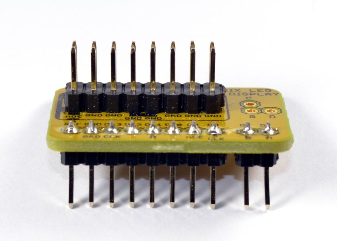 Menampilkan Text Dot Matrix P10 Display Dmd Menggunakan Arduino