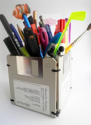 Portalapices disquete
