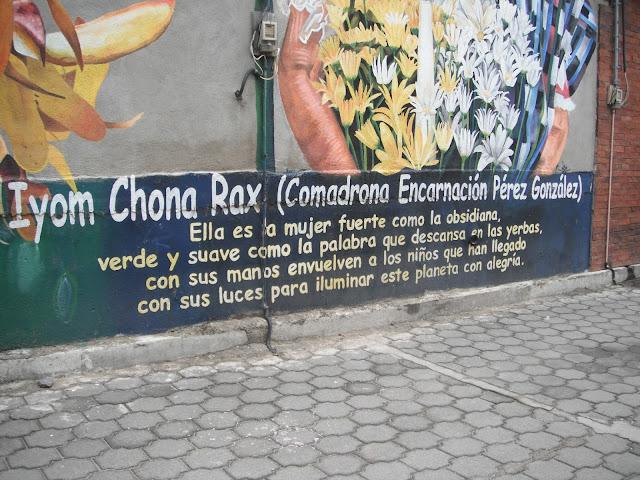 Mural in San Pedro la Laguna Guatemala