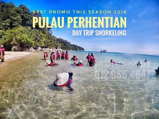 Pakej Pulau Perhentian Pulau Idaman 2018