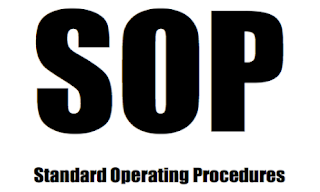 SOP,JSA, standard operating procedure, risk assessment