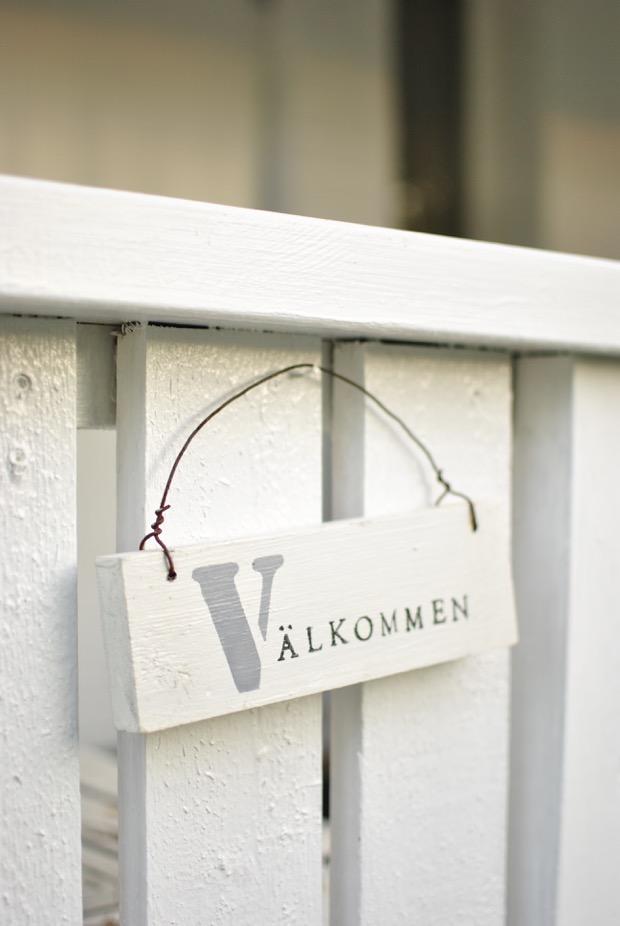 välkommenskylt hannashantverk.blogspot.se