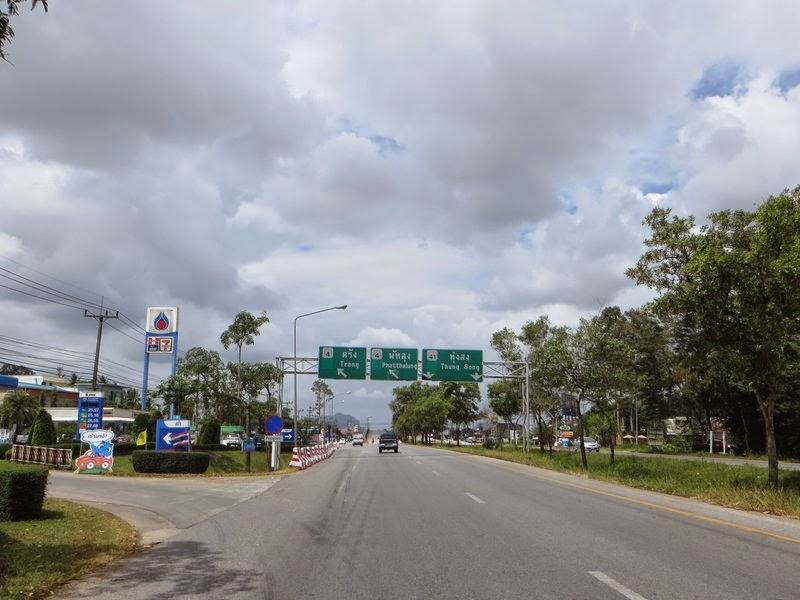 Бензиновая автозаправка Таиланд.