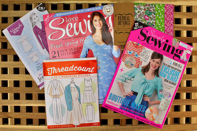 The Butterfly Balcony:Wendy's Week - Tweets & Repeats - Love Sewing & Simply Sewing Magazines
