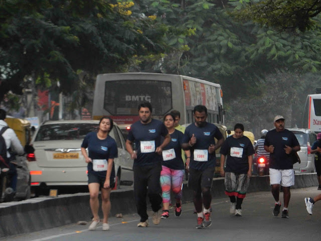 Over 1500 Participants of the Bengaluru City 10K Run