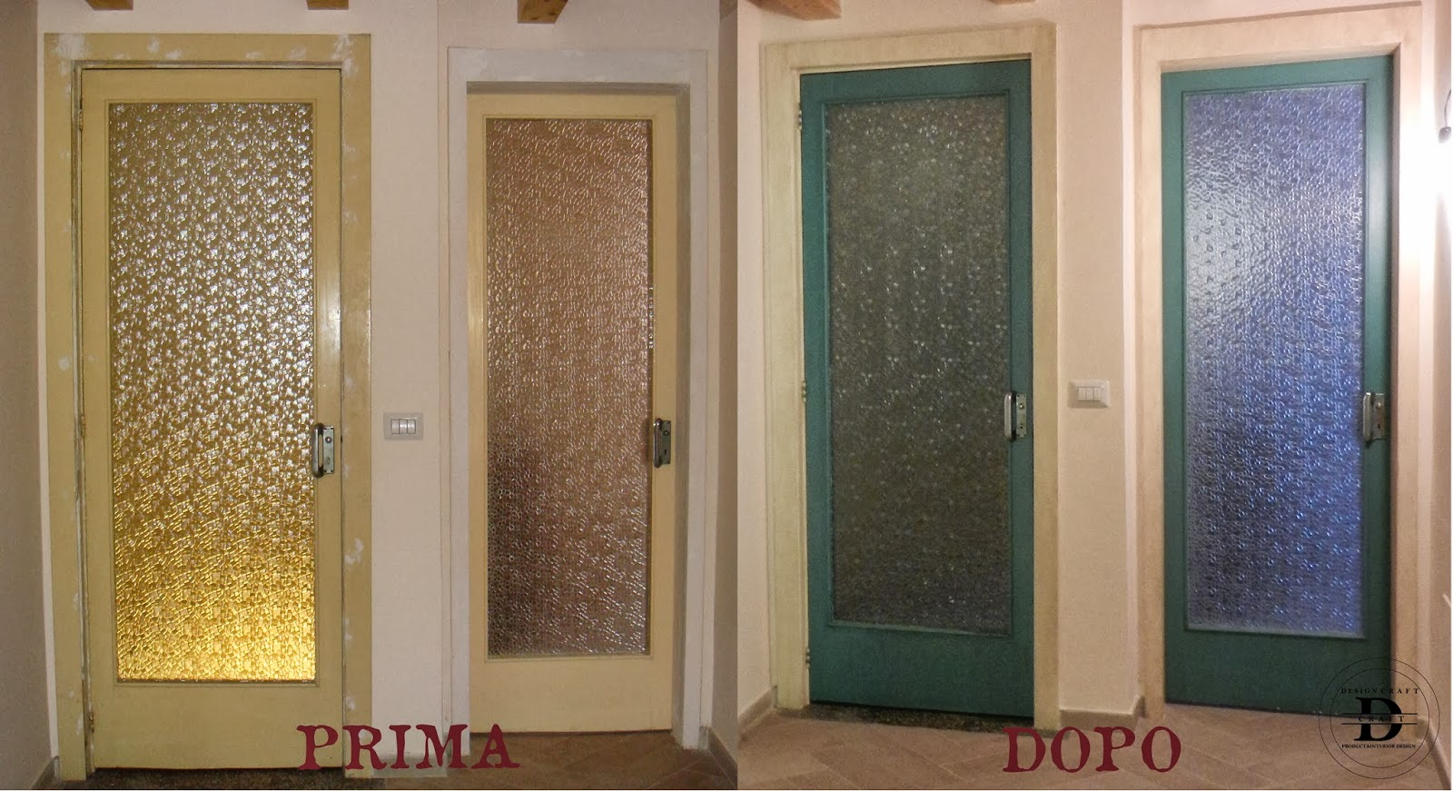 Design craft restyling vecchie porte - Rivestire una porta ...