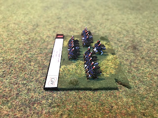 The 5th Cavalry brigade of 1815 for Blucher wargaming