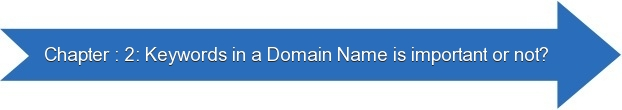 Next: Keywords in a Domain Name is Important or Not?
