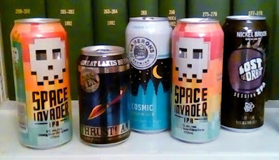interesting astro-beers served at special event