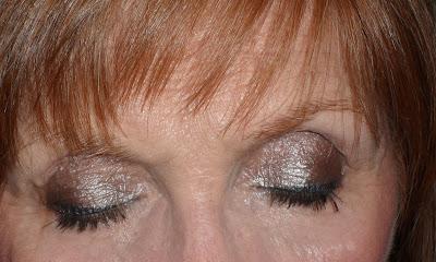 Imagen Ojos cerrados Look Shine Metallic 6