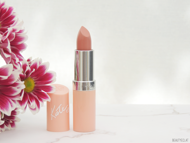 rimmel kate moss lasting finish nude lipstick revue avis test swatch