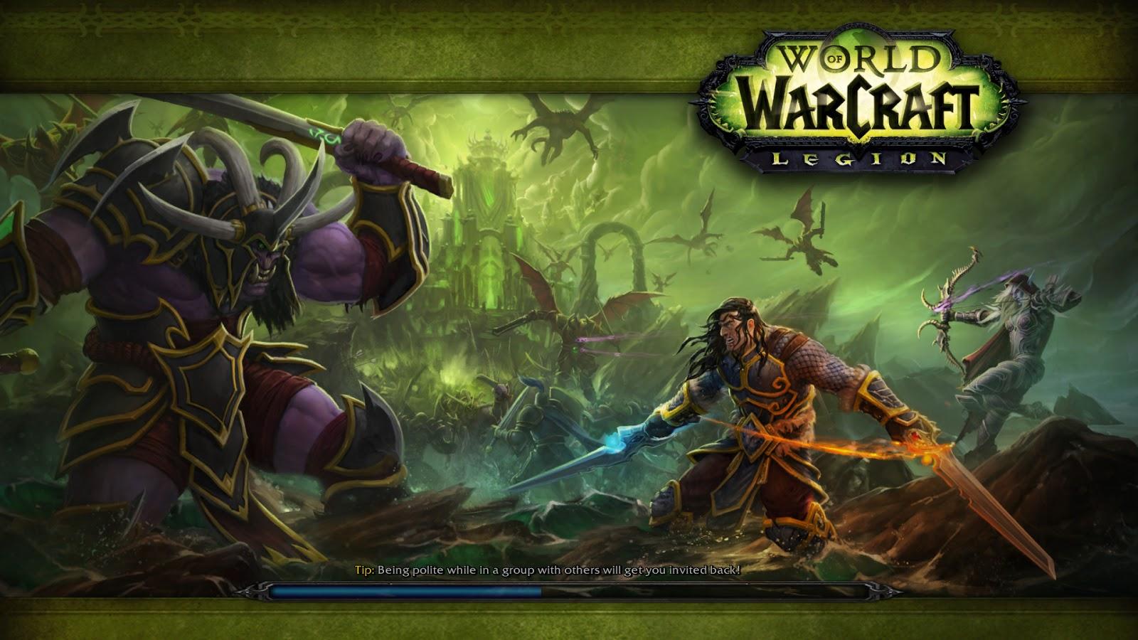 master of world of warcraft legion is just around the corner