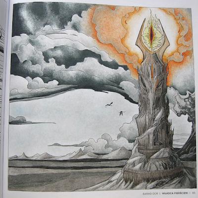 kolorowanka Świat Tolkiena