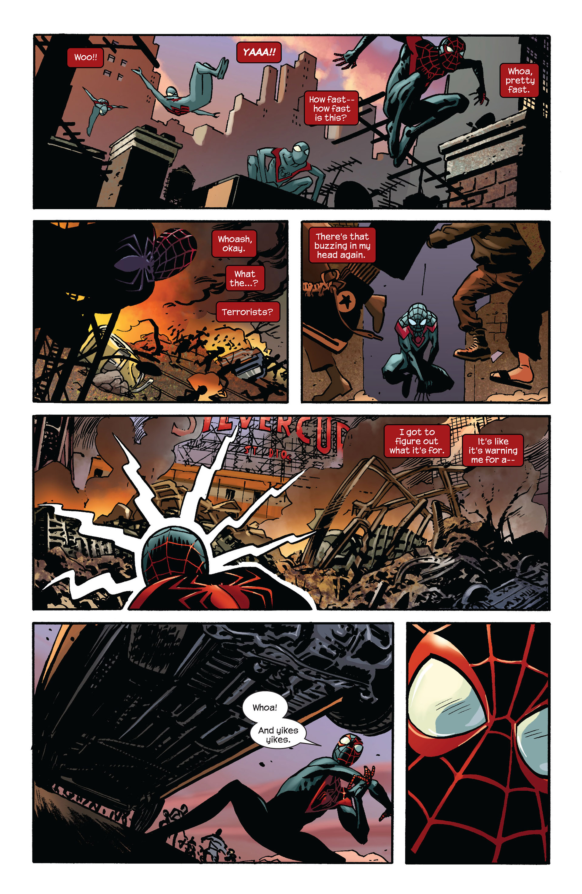 Read online Ultimate Comics Spider-Man (2011) comic -  Issue #7 - 11