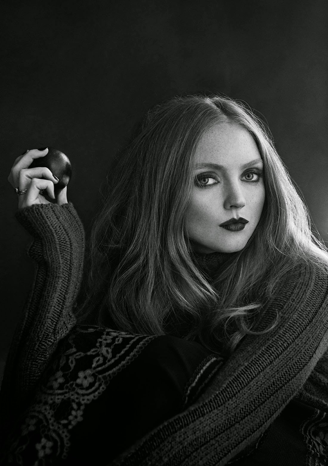 Editorial Glamour Makeup Professional Makeup Artist: Lily Cole By Signe Vilstrup For