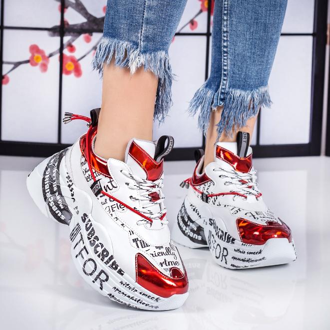 Adidasi dama cu talpa groasa si platforma inalta ieftini moderni iarna 2020