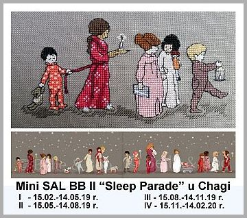 "Mini SAL  ""Sleep Parade"""