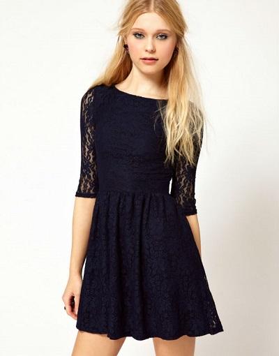 baju dress brokat terbaru