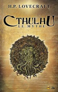 Couverture d'un livre au sujet du Mythe de Cthulhu