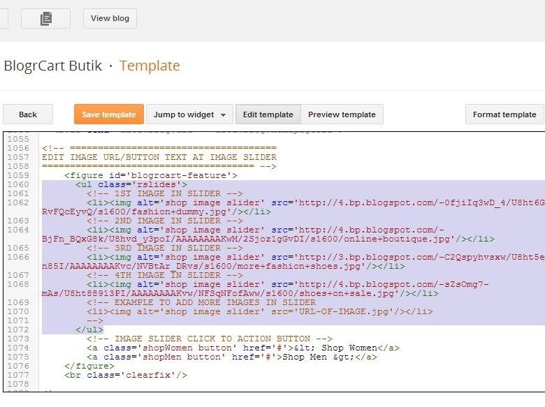 BlogrCart Butik v1.0 Freemium Blogger Shopping Cart Template ...