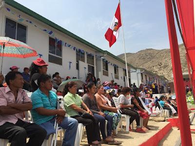 PRONIED entregará 33 aulas prefabricadas a colegios de Huarochirí por El Niño