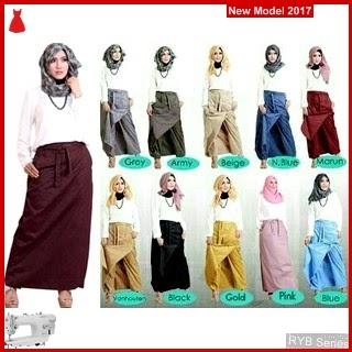 RYB064B Rok Celana Cantik 2in1 Murah By BMG Online Shop