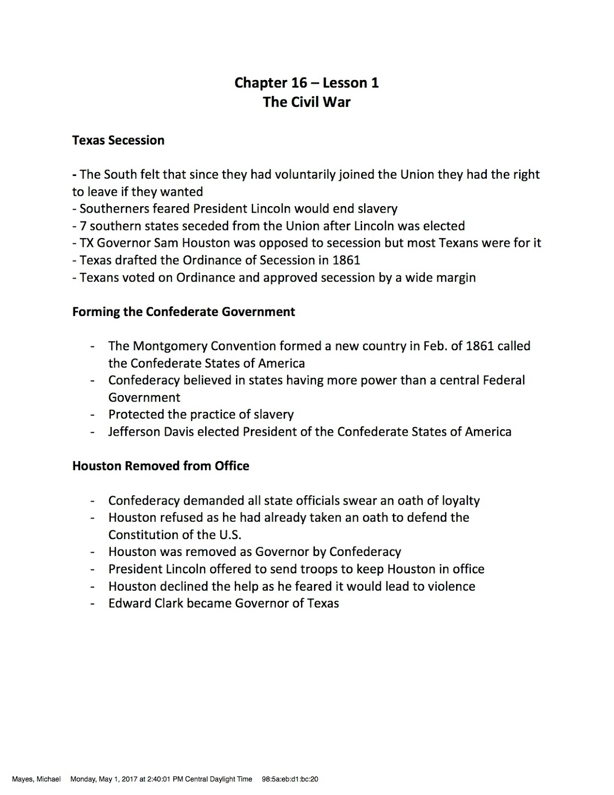 worksheet If I Were President Worksheet ehms texas history vocabulary builder worksheet due chapter 16 if they do not have a printed copy of the notes will write in class note students with and trade accommod