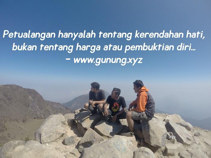 Kata Kata Bijak Untuk Pendaki Gunung Gambar Status Wa