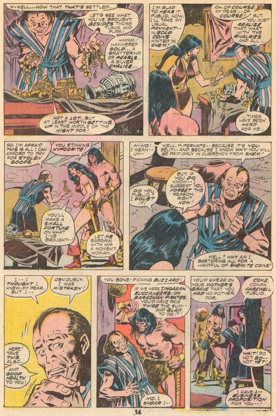 Conan the Barbarian (1970) Issue #66 #78 - English 9