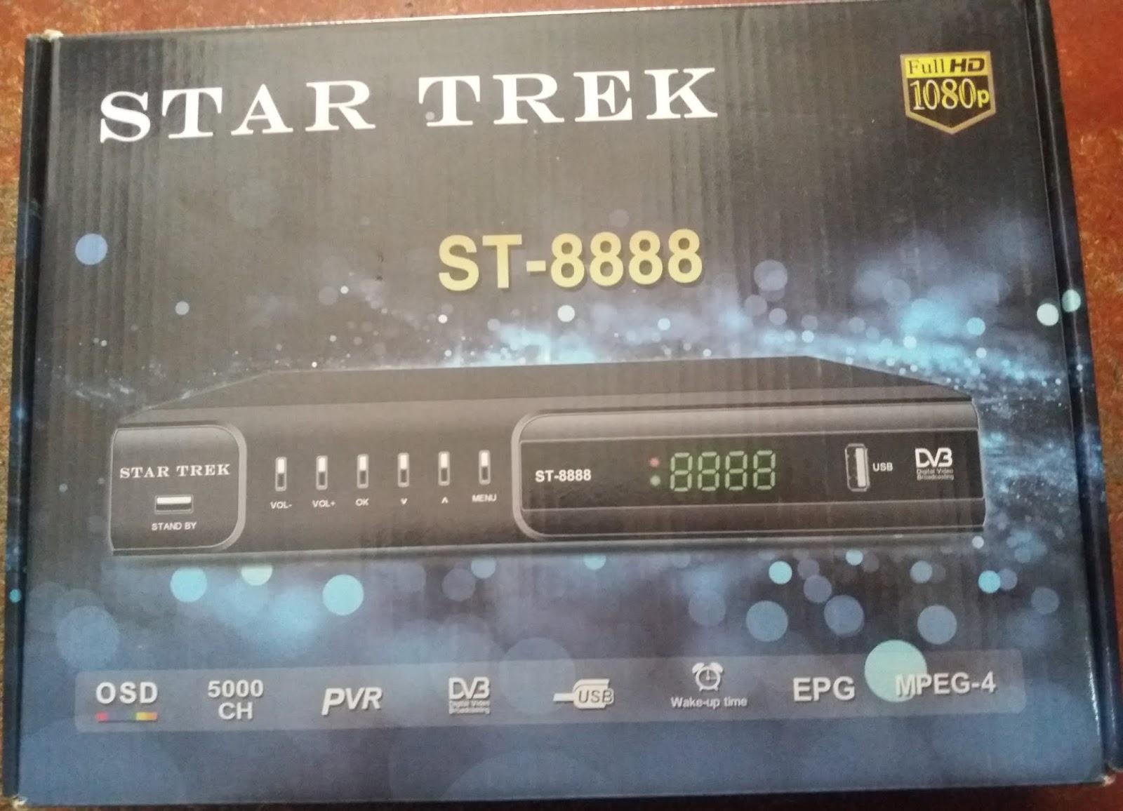 All Dish Receiver Software: STAR TREK ST-8888 HD RECEIVER