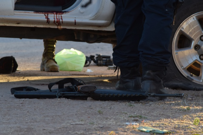 Deja 4 muertos enfrentamiento entre Carteles en Mocorito; uno era ex policía