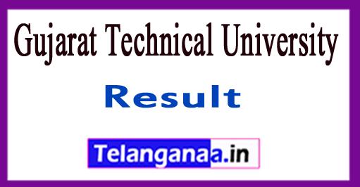 Gujarat Technical University Sem Result 2018