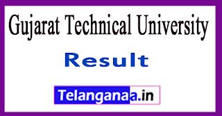 Gujarat Technical University Sem Result 2017