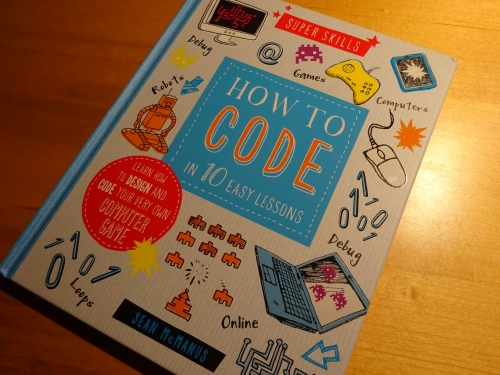 photo of Super Skills: How to Code book