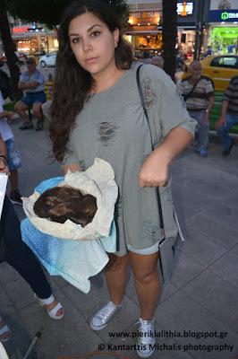 Χάρισε τα μαλλιά της για καλό σκοπό! Στην Γιορτή Εθελοντισμού Wheeling2Help