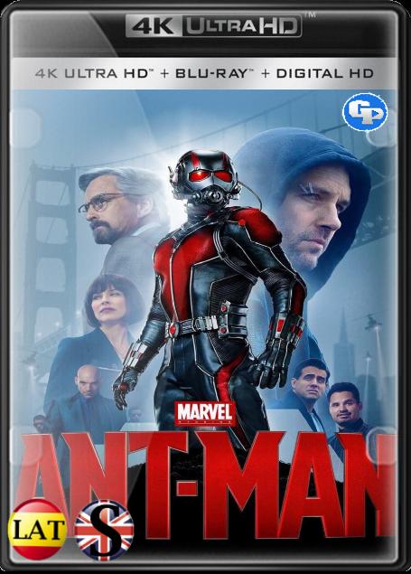 Ant-Man: El Hombre Hormiga (2015) 4K UHD LATINO/INGLES