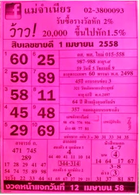 หวยแม่จำเนียร,หวยซองงวดนี้,เลขเด่นประจำเดือนเมษายน, ข่าวหวยงวดนี้,หวยเด็ดงวดนี้ , เลขเด็ดงวดนี้ 1/04/2558 เมษายน