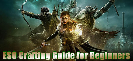 The Elder Scrolls Online Crafting Guide for Beginners