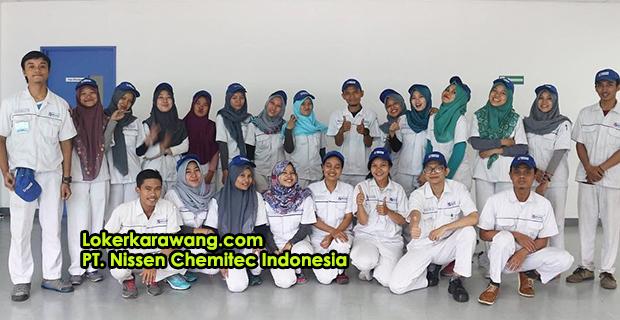 Lowongan Kerja PT. Nissen Chemitec Indonesia Suryacipta Karawang