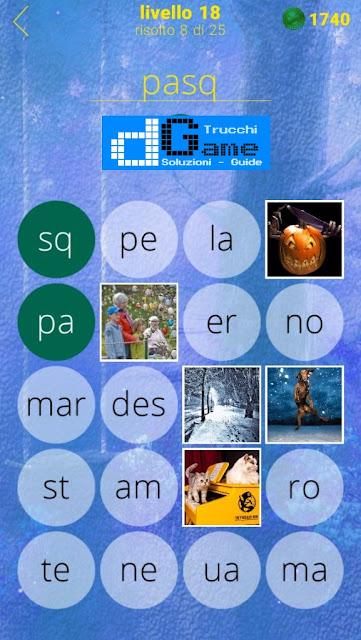 650 Foto soluzione pacchetto 18 livelli (1-25)