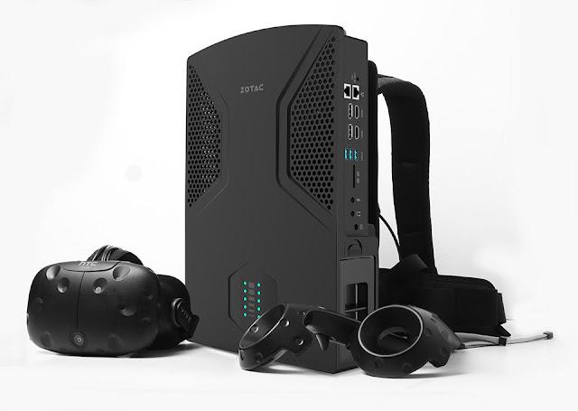 ZOTAC VR GO: Máy tính chơi game VR có thể đeo được