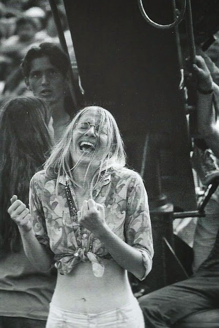 Girls of Woodstock The Best Beauty and Style Moments From 1969  vintage everyday
