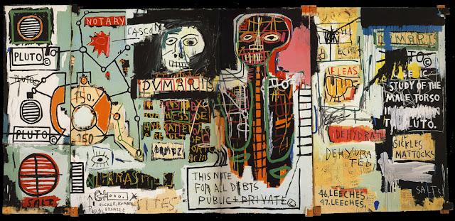 Riproduzione del quadro Notary di Jean-Michel Basquiat