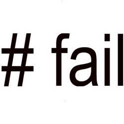 A nova função da hashtag #FAIL do Twitter