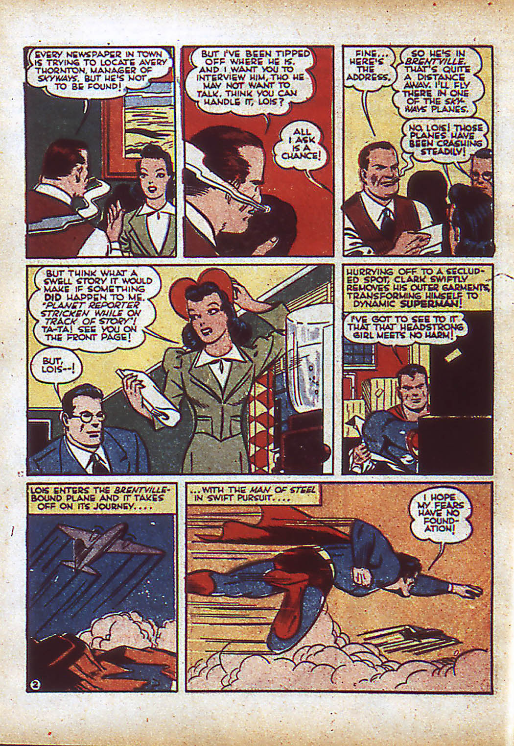 Read online Action Comics (1938) comic -  Issue #43 - 4