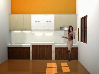 desain Kitchen Set Atas - Hang Kitchen Cabinetary 01