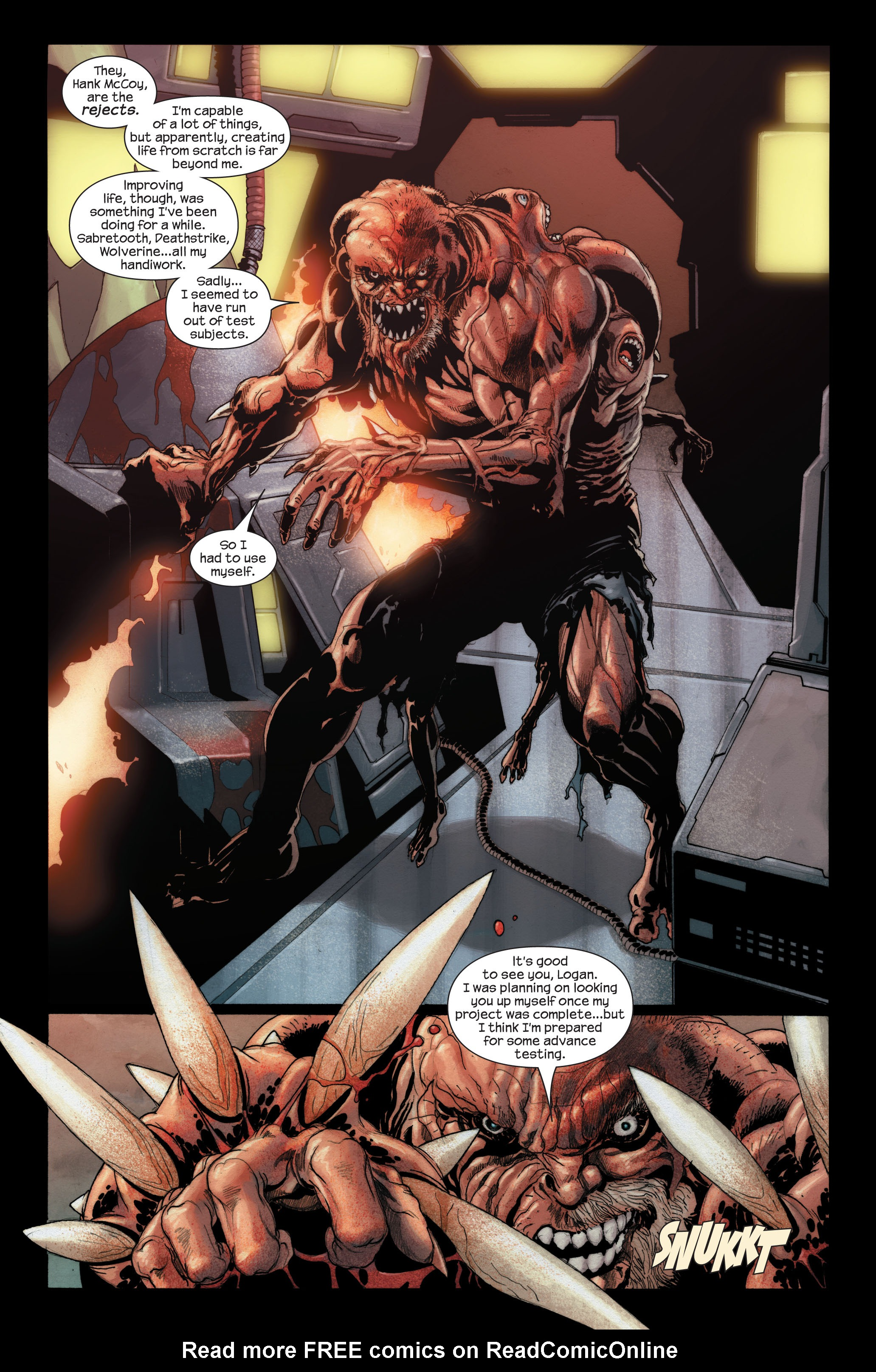 Read online Ultimate X-Men comic -  Issue #89 - 4