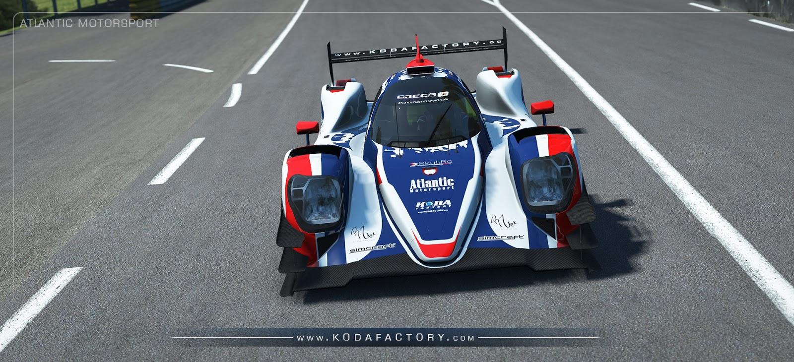 Koda Factory: Atlantic Motorsport Oreca 07 LMP2   rFactor2