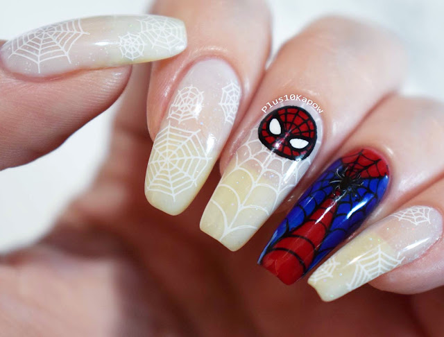 Spider-Man nerdy nails Stan Lee RIP